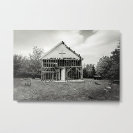 Burnt Church Metal Print