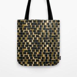 Golden set of tiles Tote Bag