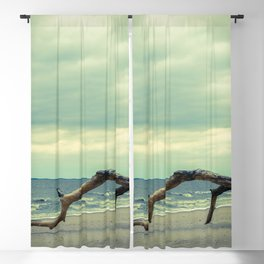 Coastal Landscape Photograph The Cove - Beach Blackout Curtain