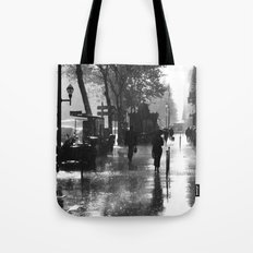 Many thanks to the rain Tote Bag