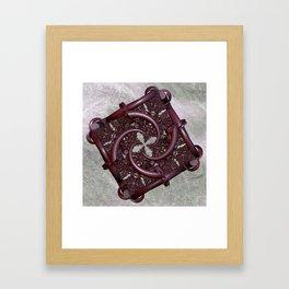 fractal square -2- Framed Art Print