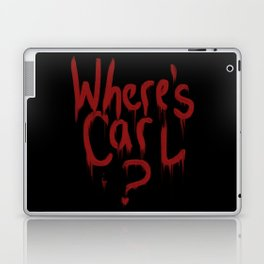 Where's Carl? Laptop & iPad Skin