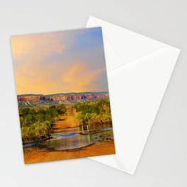 Sunset on the Cockburn Range - The Kimberley Stationery Cards
