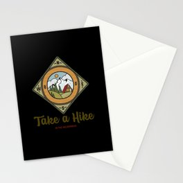 Take a hike in the wilderness Stationery Cards