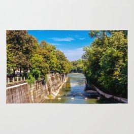 DE - Bavaria : Isar canal Rug