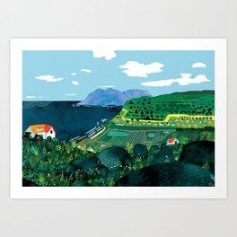 Glencairn Art Print