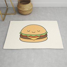 Happy Burger Rug
