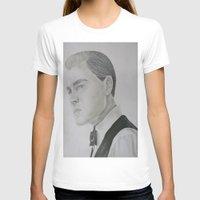 leonardo dicaprio T-shirts featuring Jay Gatsby - Leonardo DiCaprio by Moira Sweeney