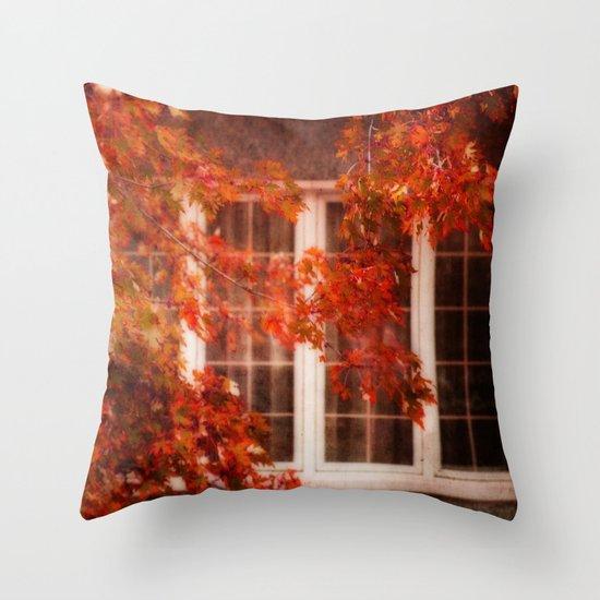 Red October Throw Pillow