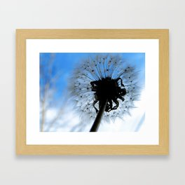 SOFT AND PUFFY DREAMS Framed Art Print