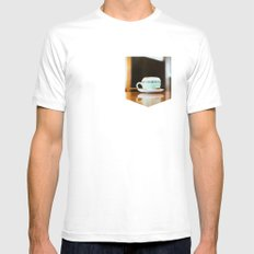 Capuccino Mens Fitted Tee White MEDIUM