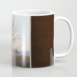 Williamstown Winter Landscape Photograph Coffee Mug