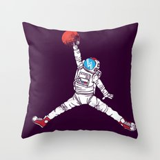 space dunk (purple ver.) Throw Pillow