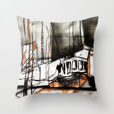 The Trawlers Throw Pillow