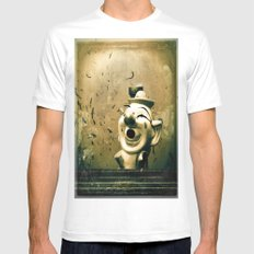 Clown Games Mens Fitted Tee White MEDIUM