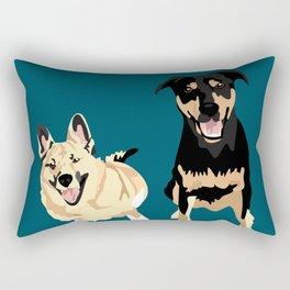 Drogo and Bowser Rectangular Pillow
