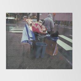 umbrella massacre Throw Blanket