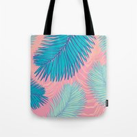 palm Tote Bags featuring Palm by haytay