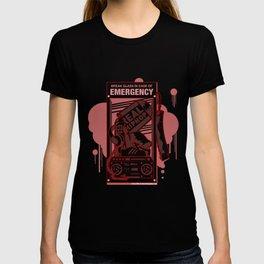 Emergency Hip Hop Red T-shirt