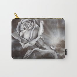 Rose Light Carry-All Pouch