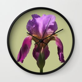 one perfect blossom blooms forever Wall Clock