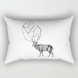 Coloured antlers Rectangular Pillow
