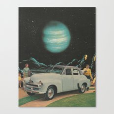 Just Like Every Other Day, Really Canvas Print