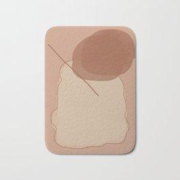 Color blocking art Bath Mat