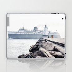 Badger Car Ferry - Ludington Michigan Laptop & iPad Skin