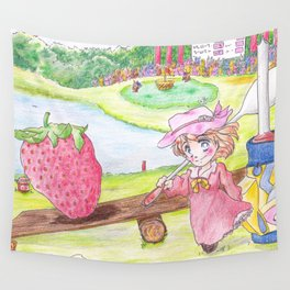 Harvest Time Wall Tapestry
