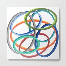 Circle circle Metal Print