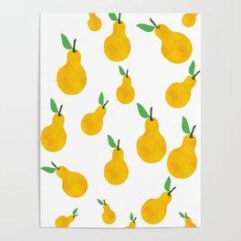 juicy pear towel, decorative panel clock tray furniture mug, Cup bag notebook cushion backpack phone Poster