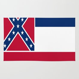 Flag of mississippi-flag of mississippi,south,Mississippian,usa, america,jackson,gulfport,Southaven Rug