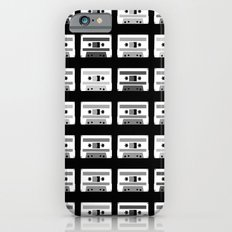 Black and White Tapes Slim Case iPhone 6s