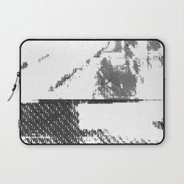LeProcope_Glitch02 BW Laptop Sleeve