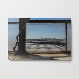 New York - Skyline from Brooklyn  Metal Print