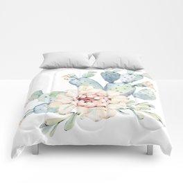 Perfect Cacti Rose Comforters