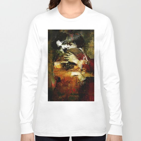 Charlie and the kid Long Sleeve T-shirt