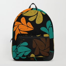 Afro Diva: Fall Colors Brown Gold Teal Backpack