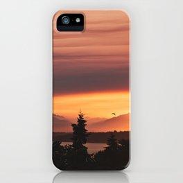 Smoky Sunset iPhone Case