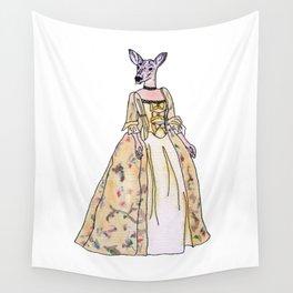 Lady Deer Wall Tapestry