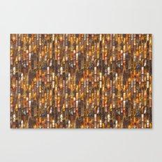 Gold Glass Tile Texture Canvas Print