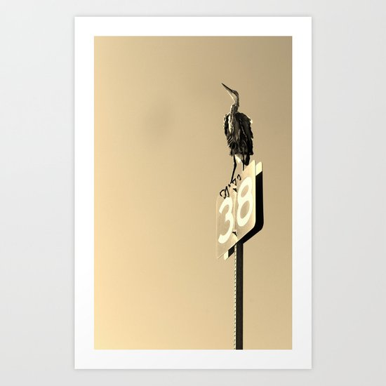 Number Thirty-Eight Art Print