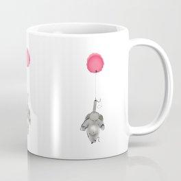 Elephant Up Up and Away Coffee Mug