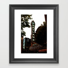 Portland Life Framed Art Print