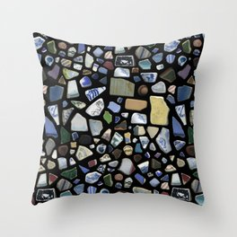 Sea Ceramic Throw Pillow