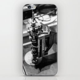 Portrait of a Seamstress: Kenneth iPhone Skin