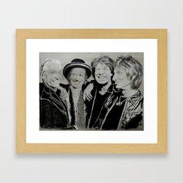 The Rolling Stones Framed Art Print