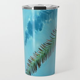 Leaf on Water Travel Mug