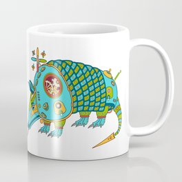 Armadillo, from the AlphaPod collection Coffee Mug